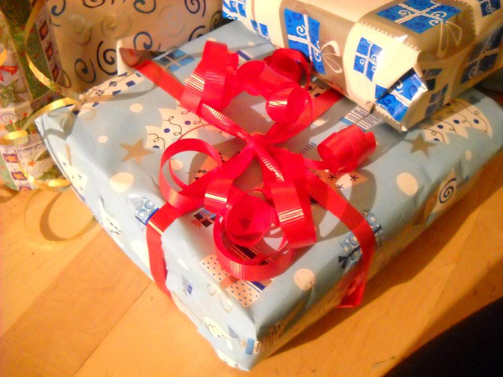 Image de cadeaux emballés